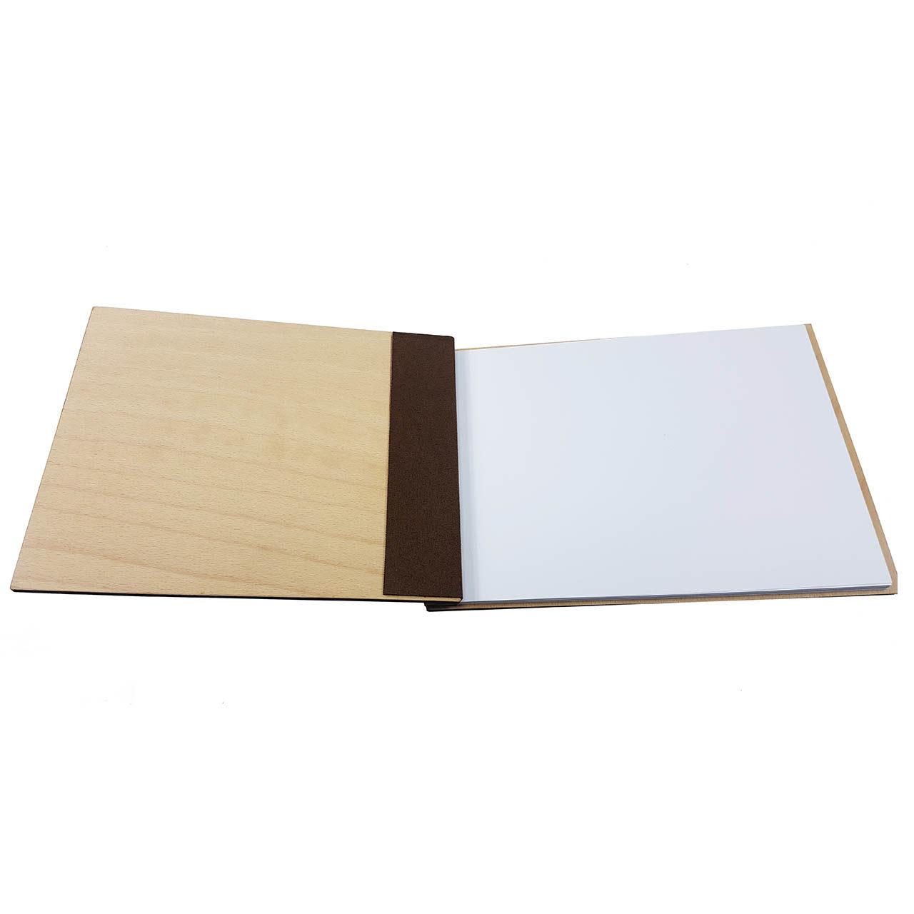 """Holz-Gästebuch """"Unsere Hochzeit"""""""