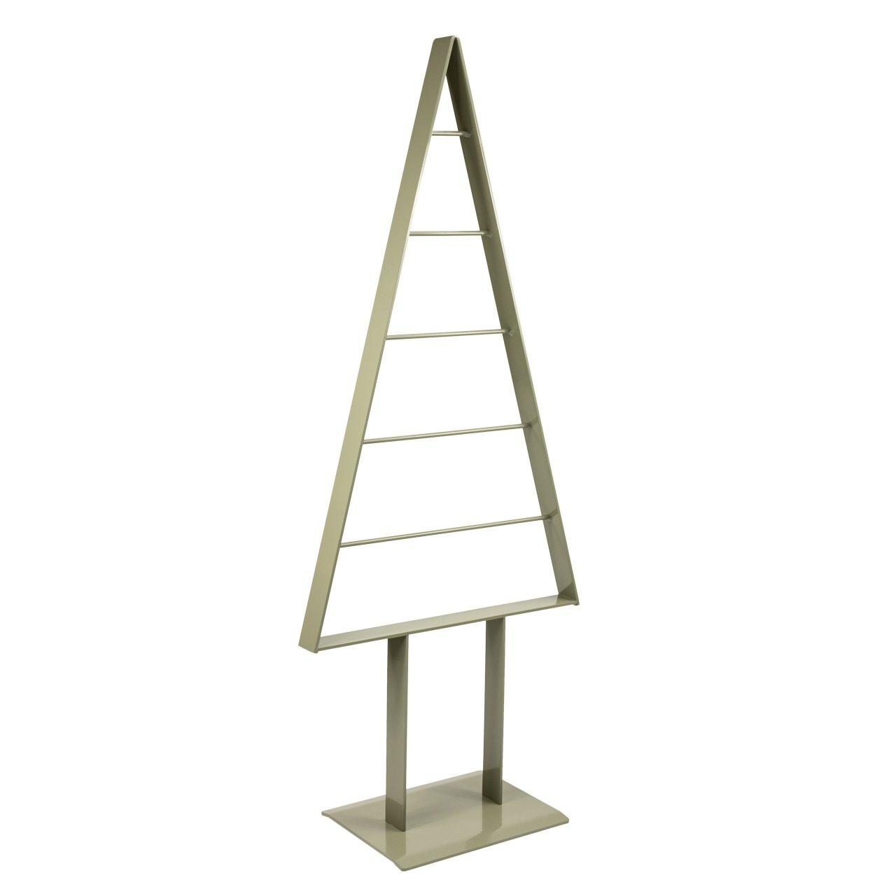 Metall-Weihnachtsbaum (Moosgrau)