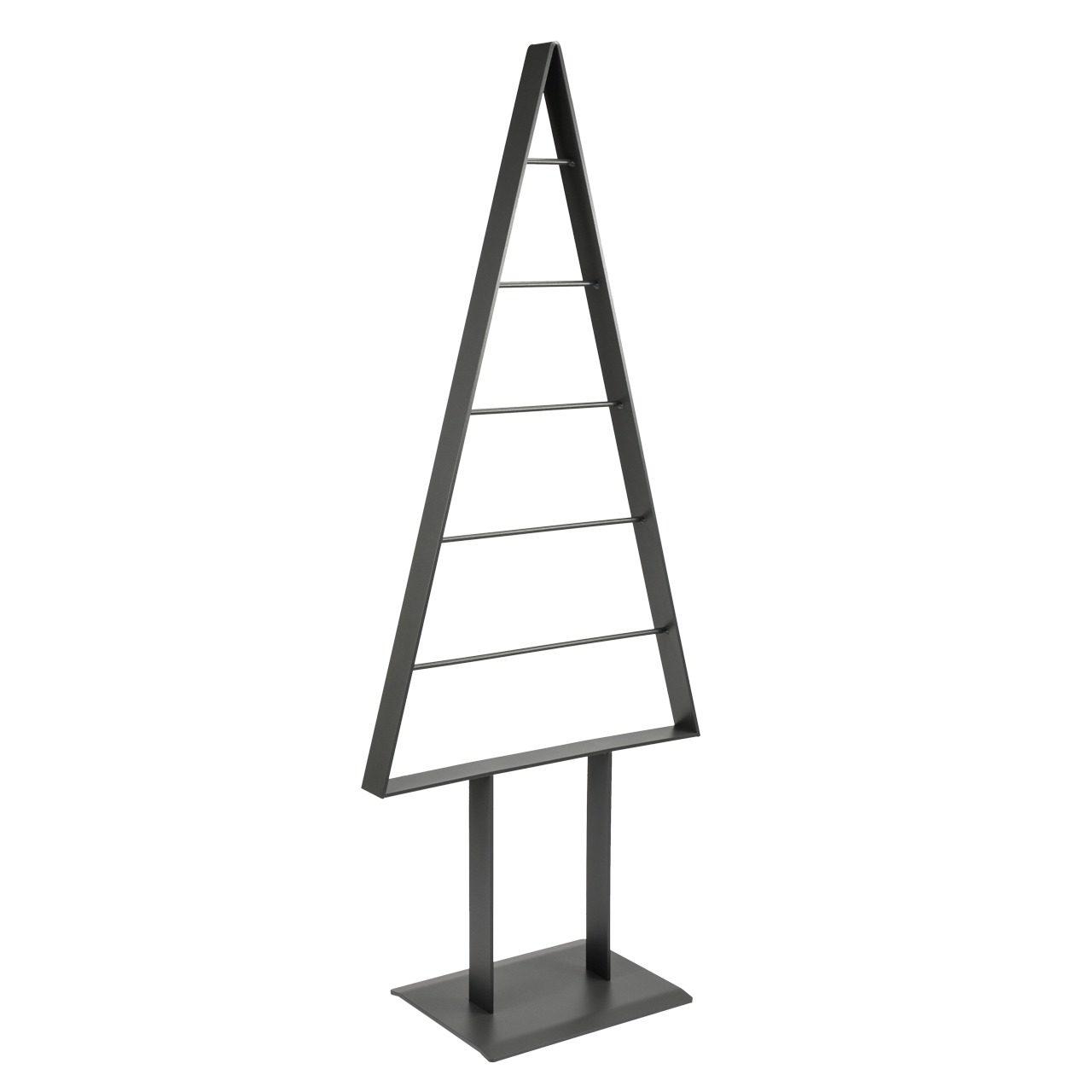 Metall-Weihnachtsbaum (Graphit-Pearl)