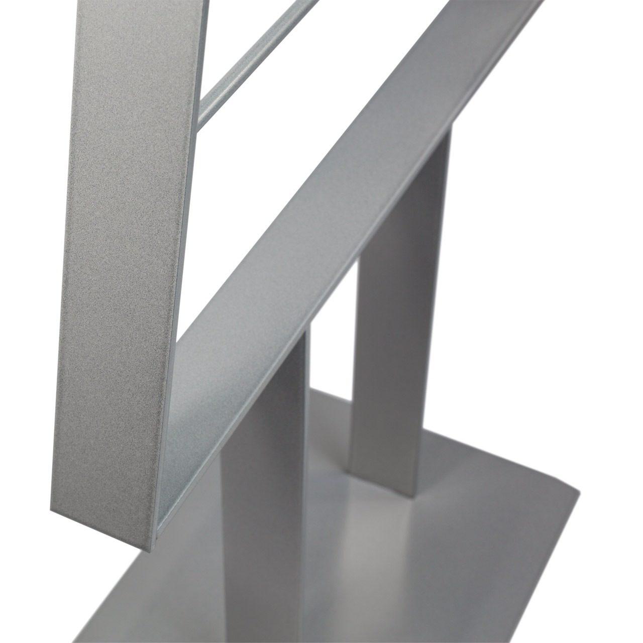 Metall-Weihnachtsbaum (Silbergrau)