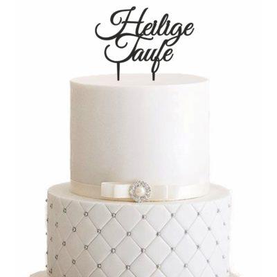Cake Topper Heilige Taufe