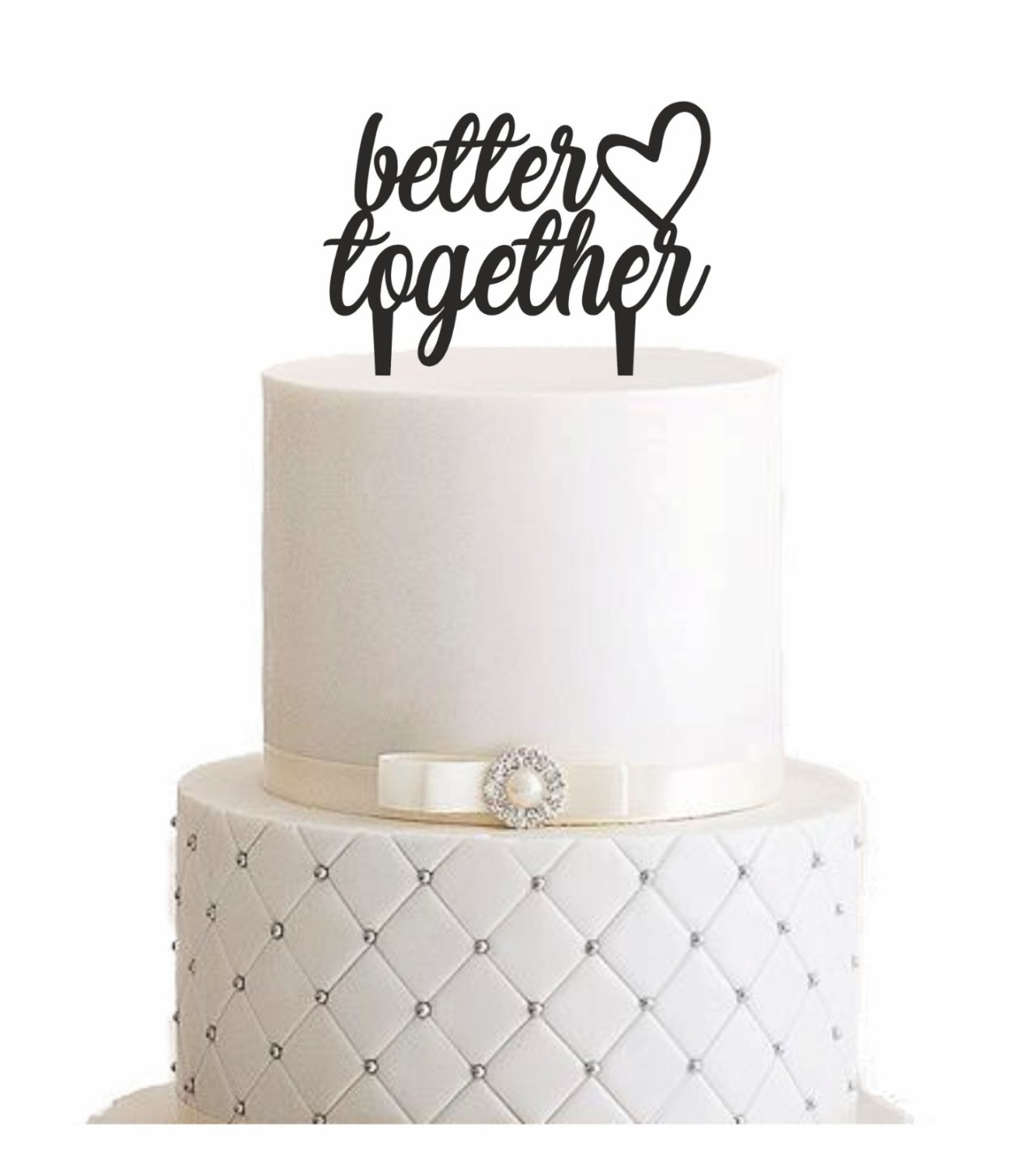 cake topper better together