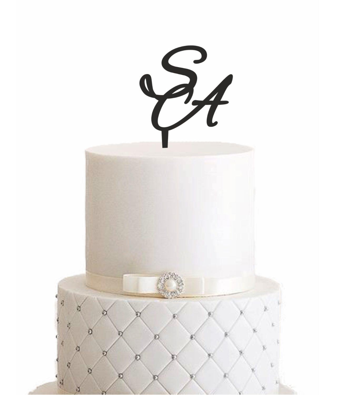"Cake Topper ""Elegant"" – Personalisiert"
