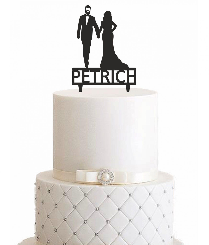 Cake Topper Mann mit Bart - Personalisiert