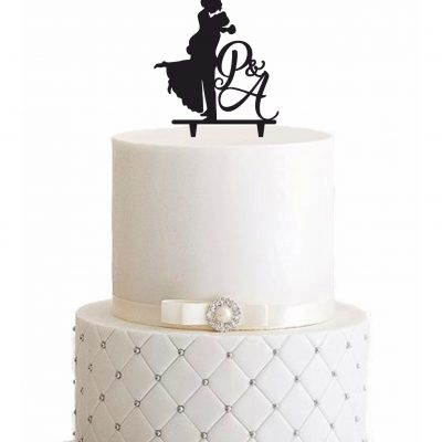 Cake Topper Silhouette - Personalisiert