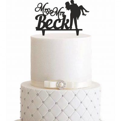 """Cake Topper """"Auf den Armen"""" – Personalisiert"""