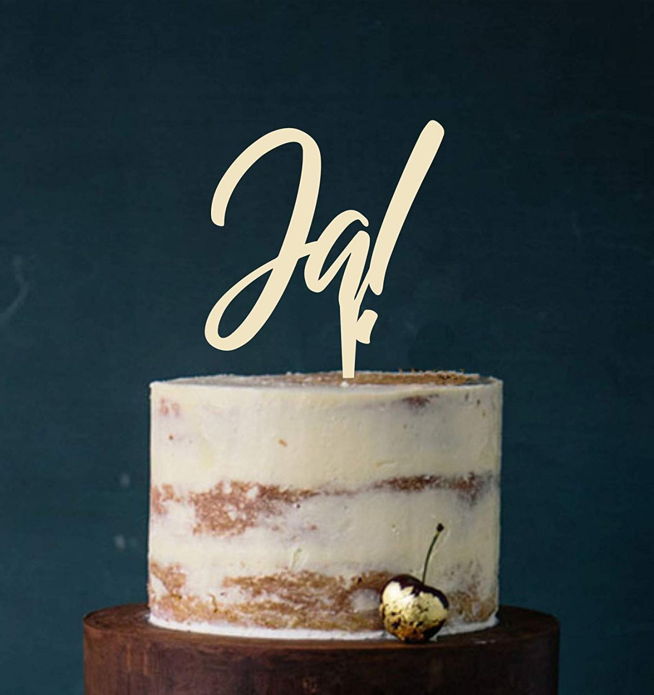 "Cake Topper ""Ja!"""
