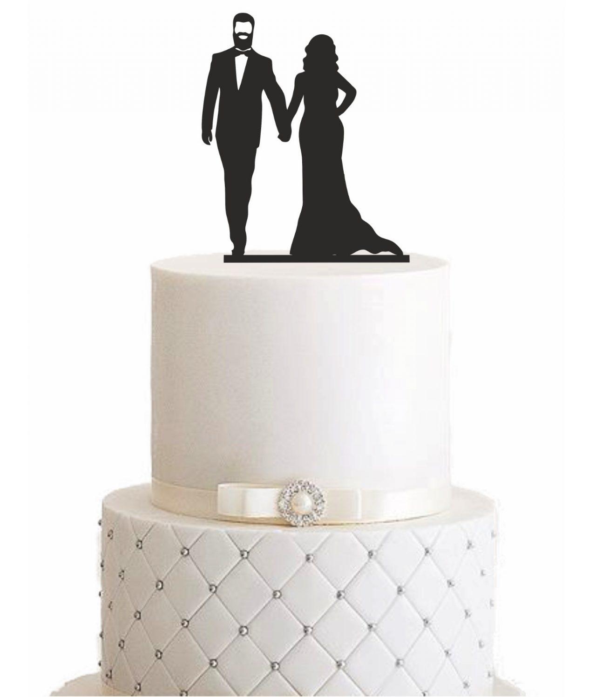 """Cake Topper """"Ehemann mit Vollbart"""""""