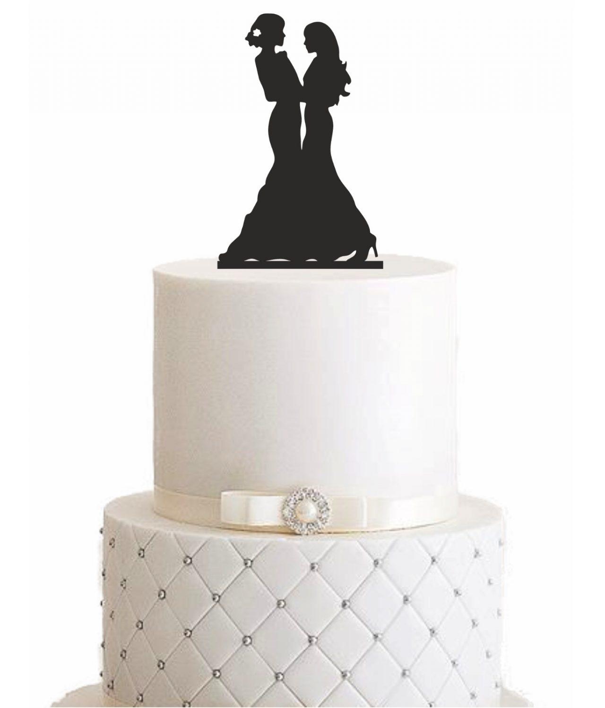 "Cake Topper ""Zwei Ehefrauen"""