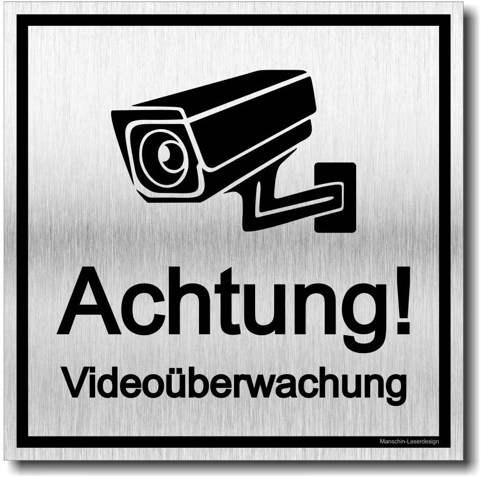 """Türschild """"Achtung! Videoüberwachung"""""""