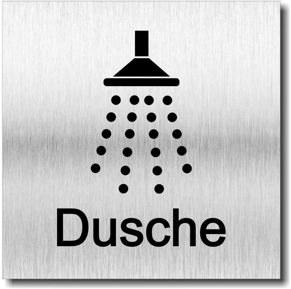 "Türschild ""Dusche"""