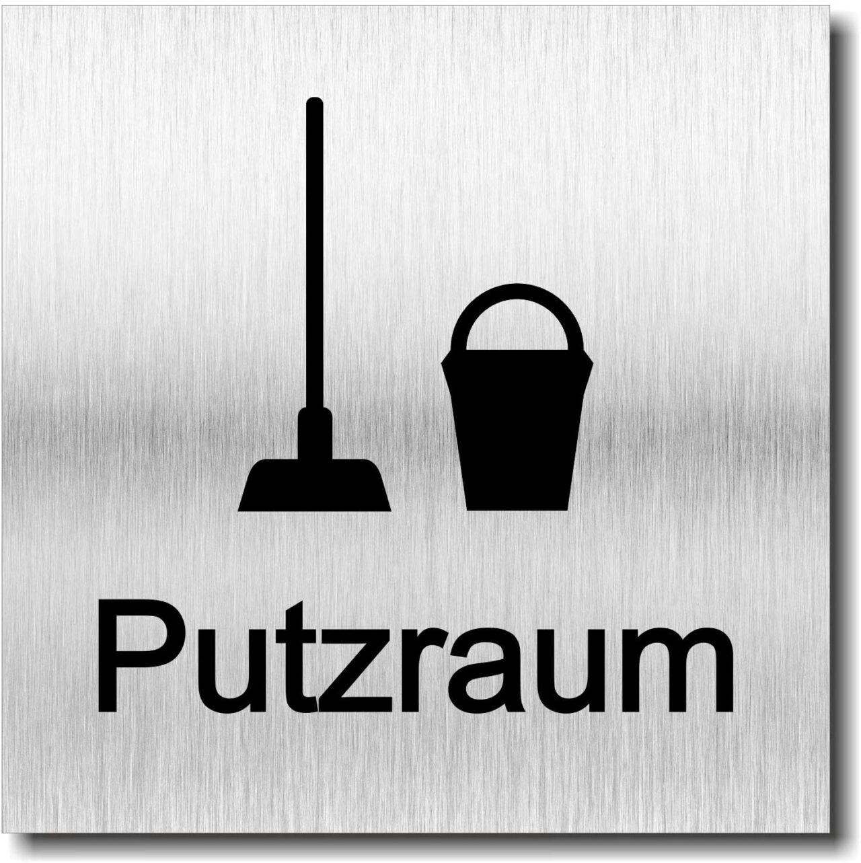 """Türschild """"Putzraum"""""""