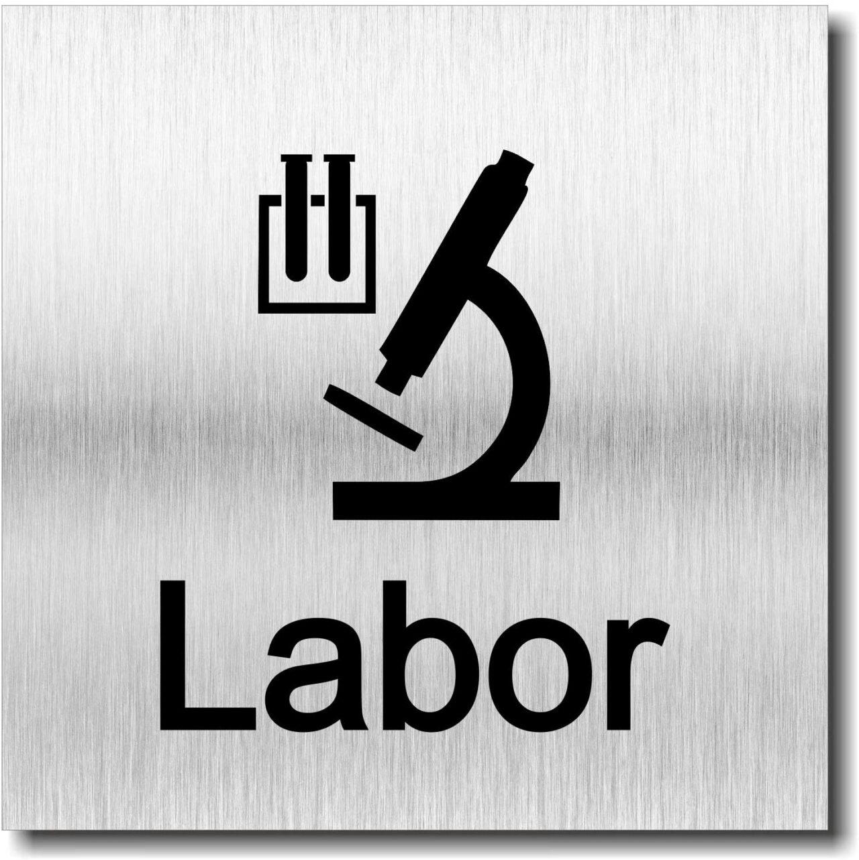 "Türschild ""Labor"""