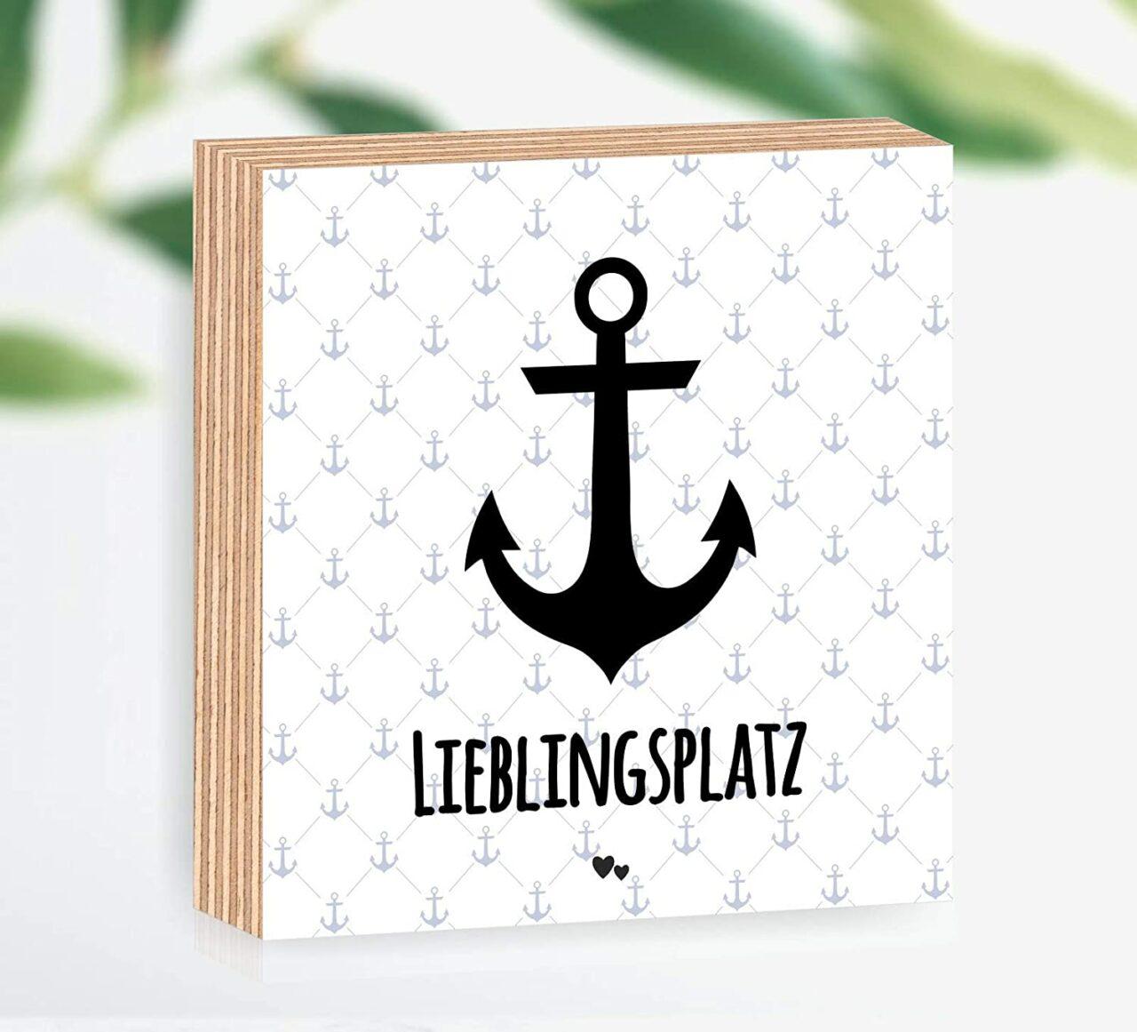 """Holzbild """"Lieblingsplatz"""""""